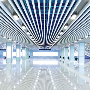Long-Lived LED Lighting Benefiting A Mall's Commercial Property Owners