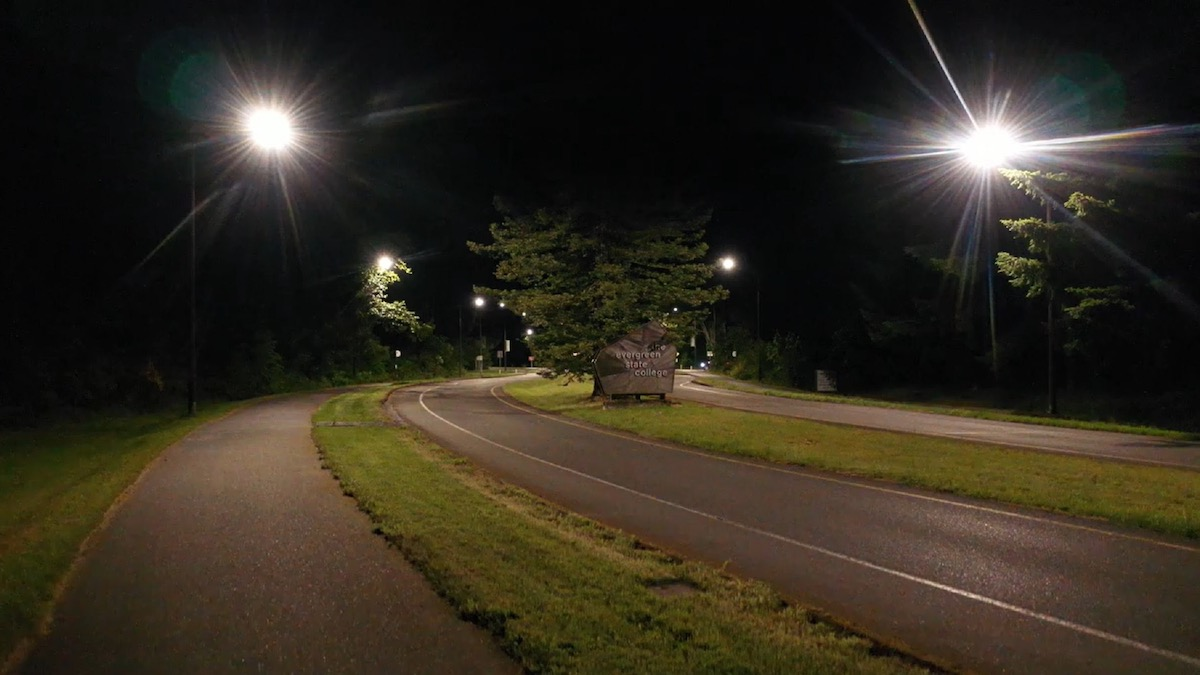 LED Roadway Lighting Upgrade, The Evergreen State College, Olympia, WA